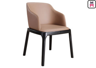 China Grace Arm Chair Padded Wood Restaurant Chairs Modern Furniture With Round Safe Corner supplier