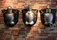 Vintage Living Room / Cafe Wall Decor Mid - Century Knight With Sword