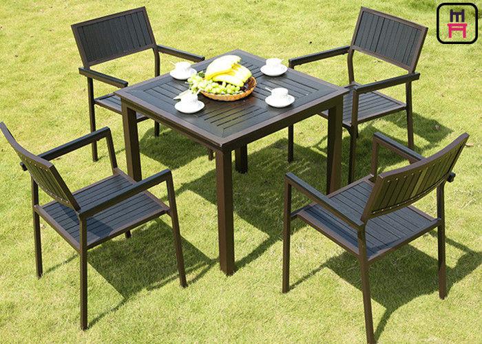Tables Sets Plastic Wood Metal Frame