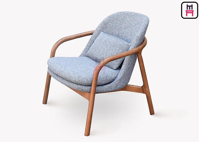 Wood Structure Modern Sofa Chair , Leisure Sofa Chair Custom ...