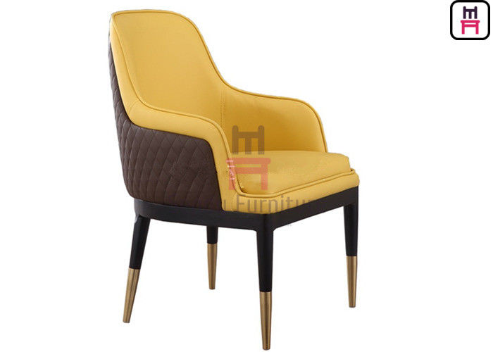 High Back Wooden Dining Room Chairs Dual Color Luxury Oversize For Hotel / VIP Room supplier