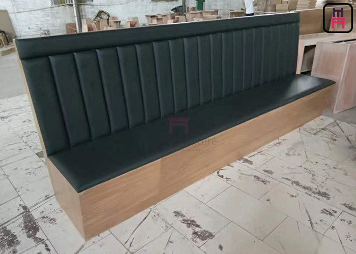 Leather Restaurant Wall Bench Seating