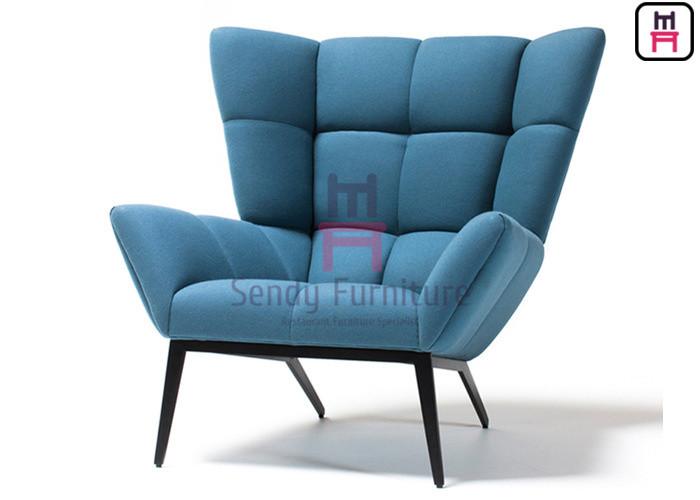 Upholstered Fabric Single Sofa Chair
