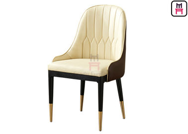 Luxury upholstered Wood Restaurant Chairs