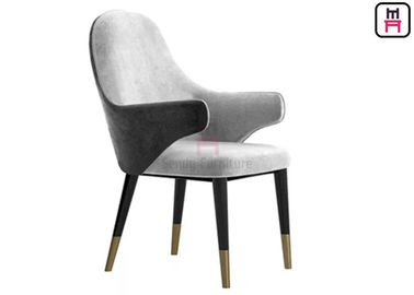 Solid Wooden Dining Chairs With DIVA Arm IW-145 For  Five Star Hotel And Bar