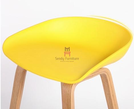 Nodic Egg Chair Plastic Counter Stools Egg Bar Stool